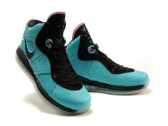 Nike LeBron 8 Pre-Heat South Beach,Style code:417098-401,The Nike LeBron 8 Pre-Heat aka South Beach features 360 max air unit combined with flywire technical upper as the new generation lebron's sginature sneaker. The shoe sports a filament green natural leather upper contrast well with the black mesh tongue, lace panels and midsole, the inner lining and Nike swoosh are also in black color. There are some pink accents places on the upper such as pink eyelets and lining edge of the tongue…