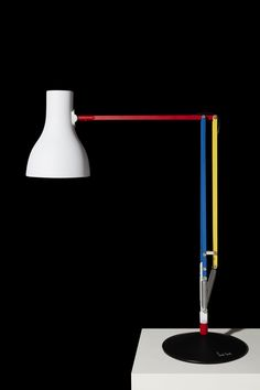 With a confident palette of primary colours the Anglepoise® + Paul Smith, Edition Three evokes the visual style of Piet Mondrian and Theo van Doesburg's De Stijl movement, which celebrates its centenary next year.