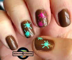 Searchin 4 Sunshine: [Nails] Lacke in Farbe ... und bunt! BRAUN mit CATRICE BOHEMIA C01 Yes, You Tan!