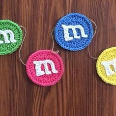 So my mini-me turned 2 1/2 yesterday and naturally I'm already working on planning her 3rd birthday party. I'm thinking this M&M Garland may be perfect for an M&M themed party? It's Tuesday folks and time for a @realmakersofig #shopshare - check out @yarnfreak for some seriously cute crocheted items! M & M Garland I made for Ashley as an end of the year teacher gift. I love how it turned out. #specialorder #endofyearteacergift #luckyteacher #colorsoftherainbow #m&ms #candy #garland…