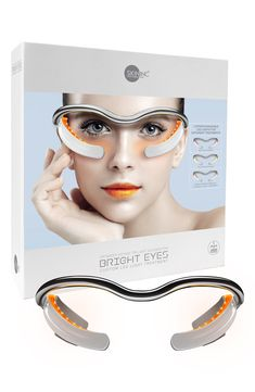 What it is: A Nordstrom-exclusive red light, yellow light and orange light device that targets the undereye area to revive the appearance of youthful skin.What it does: The red light helps revive the skin, the yellow light helps you glow and the combined orange light provides both benefits at the same time. The device helps promote the look of skin suppleness and radiance, helps reduce the appearance of dark circles and helps to minimize puffiness and signs of fatigue caused by blue light emitte Massage Tools, Volume Mascara, Natural Lashes, Light Skin, Light Orange, Eye Cream, Dark Circles, Beauty Hacks, Beauty Secrets