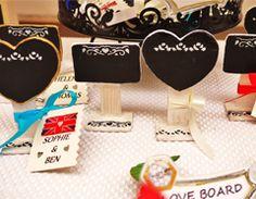 BeeARTisan's 'LOVE BOARDS' - Keepsake Wedding Favours found in the SERENDIPITY Range  www.BeeARTisan.com