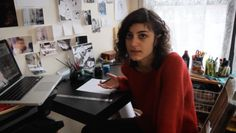 Graphic novelist Leila Abdelrazaq. 'Baddawi': A Deeply Moving Graphic Novel About A Palestinian Refugee http://www.visiontimes.com/2015/07/13/baddawi-a-deeply-moving-graphic-novel-about-a-palestinian-refugee.html