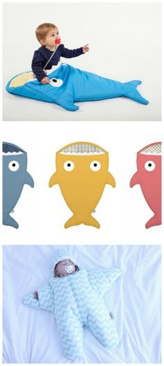 The coolest baby's sleeping bags