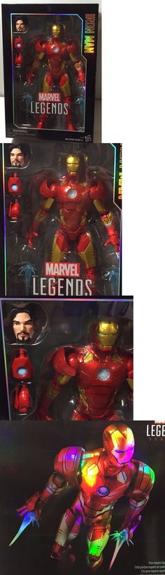 Toys And Games: Iron Man Hasbro Marvel Legends 12 Collector Series Action Figure 2016 In Stock BUY IT NOW ONLY: $34.95