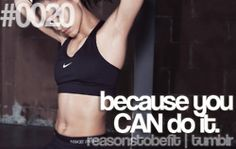 i think i can, i think i can, i KNOW i can.