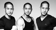 The Luu brothers, 6'1 Asian triplets