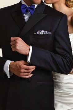 Gravata azul marinho *-*