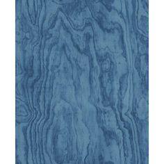 A-Street Bentham Blue Plywood Wallpaper-2540-24041 - The Home Depot