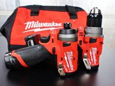Milwaukee M12, Milwaukee Tools, Trailer Storage, Cordless Tools, Metal Shop, Impact Driver, Generators, Power Tools, Wood And Metal