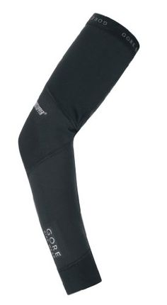 Men's Cycling Leg Warmers - Gore Bike Wear Universal Windstopper  Soft Shell  Knee Warmers Black Large *** Click image for more details.