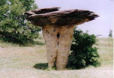 Mushroom Rock, near Salina, Kansas.