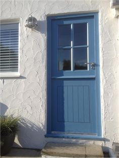 An inspirational image from Farrow and Ball. cook's blue
