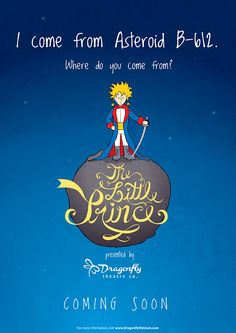 Little Prince poster for a theater in Saigon. COMING SOON in Nov!