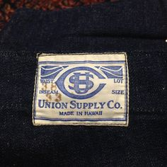 UNION SUPPLY CO. MADE IN HAWAII