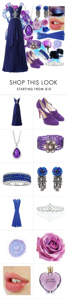 """My OC's makeover-The selection of the queen"" by fandom-girl365790 ❤ liked on Polyvore featuring Christian Louboutin, City Rox, Luise, Forest of Chintz, Balenciaga, Kate Marie, The Gypsy Shrine and Vera Wang"