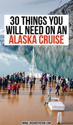 This perfect Alaska cruise packing list has everything you need to know about packing for an Alaska cruise! From what to wear to extras to bring this list. Packing For Alaska, Alaska Cruise Tips, Packing List For Cruise, Alaska Travel, Cruise Travel, Cruise Vacation, Disney Cruise, Canada Travel, Honeymoon Cruise