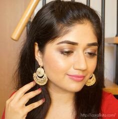 The Bridesmaid Look - Indian Wedding Makeup  - Soft Festive Makeup