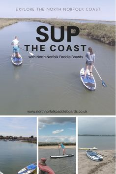 Stand Up Paddle Board Rental with North Norfolk Paddle Boards