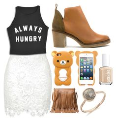 """""""Untitled #46"""" by supemrs on Polyvore featuring Miista and Essie"""