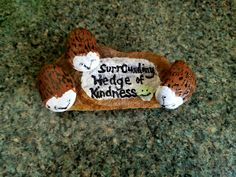 My surrOunding hedge of kindness #blocksrocks