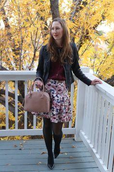 DressesAndDenim.com : feminine winter outfit