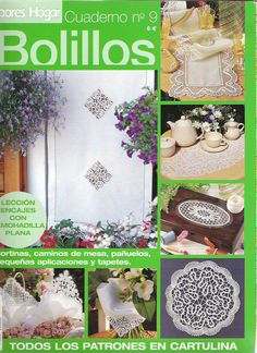 CUADERNO DE BOLILLOS 009 - Almu Martin - Álbumes web de Picasa Bobbin Lace Patterns, Crochet Doily Patterns, Crochet Chart, Crochet Doilies, Parchment Craft, Lace Making, Tatting, Diy And Crafts, Blade