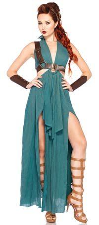 Warrior Maiden Sexy Costume - Halloween Costumes