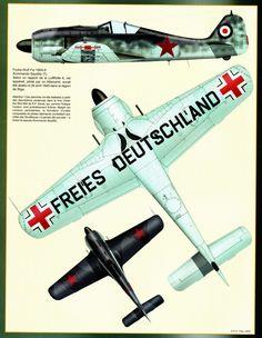 Aéro Journal N°27 - Fw190   http://maquettes-avions.hautetfort.com/archive/2011/07/05/profils-divers.html
