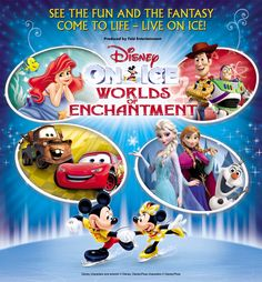 awesome Disney on Ice Presents Worlds of Enchantment - Moda Center PDX Oct 20-23