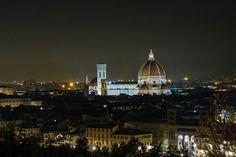 "Il cupolone - The beautiful ""duomo"" di Firenze in the night"