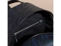 BURBERRY LEATHER-TRIMMED PRINTED LONDON CHECK BACKPACK. #burberry #bags #leather #lining #pvc #backpacks #polyester #