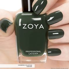First Look: Zoya Nail Polish in Hunter - Fall 2013 Edition got all these new zoya colors during their camo special can't wait to try!