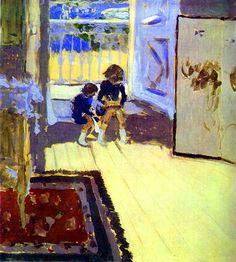 Children in a Room by Edouard Vuillard