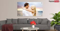 Metal Prints With Hanging Block or Hanging Hardware. Turn your memories on personalized metal prints from CanvasChamp Metallic Prints, Photo Canvas, Photo S, Vibrant, Canvas Prints, Printing, Medium, Blog, Home Decor
