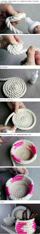 Súper senzill tutorial Manual - Emmagatzematge personalitzada Basket