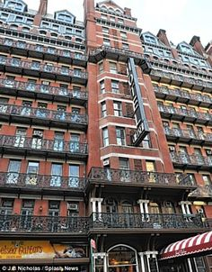 Listed building: The Hotel Chelsea, 222 West 23d Street, New York, built in 1883 and listed in the United States Registry of Historic Places