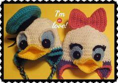 Free Donald & Daisy InspiredHat Pattern© | Craftsy