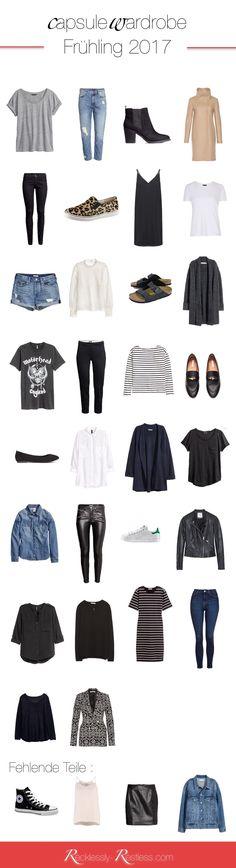 Hier ist sie also meine (momentane) minimalistische Garberode für den Frühling: meine Spring Capsule Wardrobe 2017. Diesmal bin ich ganz stolz auf meinen Kleiderschrankinhalt und die Grafik. Nun aber zu den Fakten: Farbpalette Wie immer bestimmen die neutralen Farben meinen Kleiderschrank. Neben dem obligatorischen schwarz und weiß seht ihr viel blau, grau und ein bisschen …