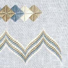 Floral Embroidery, Cross Stitch Embroidery, Embroidery Patterns, Hand Embroidery, Cross Stitch Patterns, Needlepoint Stitches, Needlework, Bargello Patterns, Textile Art