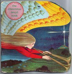 Vintage 1965 The Christmas Angel Book William Dugan Paperback Children's Book