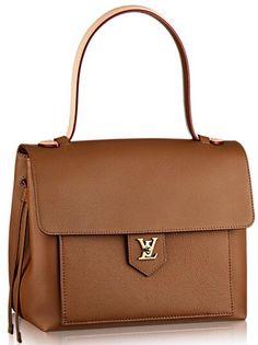 20fd6644018 Introducing the Louis Vuitton Lockme Bag. The Lockme Bag is Louis Vuitton s  latest offering from their Cruise 2015 Collection.