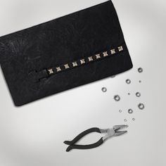 Inspired by metal elements, the designers at #Baggit have integrated stud accents on the #clutch for an edgy look and feel. #Inspiration #Baggit #womensfashion
