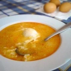 Egg Drop Soup, Gazpacho, Food 52, Cheeseburger Chowder, Soup Recipes, Pudding, Ethnic Recipes, Desserts, Master Chef