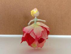 Petal Willowfly / Flower Fairy Doll / Miniature fairy doll / Miniature fairies / Small fairy / Pocket fairy / Faerie Doll