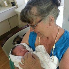 Great grandma and bug