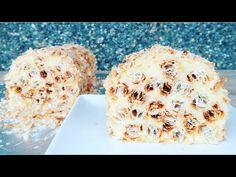 Rulada Napoleon un adevarat deliciu | Brazo de gitano Napoleon | Napoleon roll recipe easy - YouTube Romanian Desserts, Rolls Recipe, Seafood, Tube, Vanilla, Muffin, Easy Meals, Sweets, Sugar