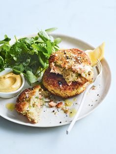 Salmon Dill And Potato Cakes | Donna Hay