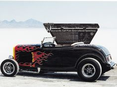 Ford Roadster! It's on fire!