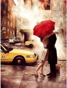 New York Romance ~ Paint By Numbers US®